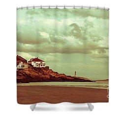 Good Harbor Beach Shower Curtain by Dana DiPasquale
