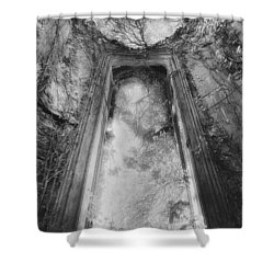 Gothic Window Shower Curtain by Simon Marsden
