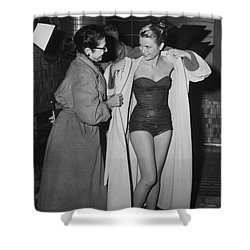 Grace Kelly  Shower Curtain by Photo Researchers