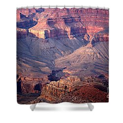 Grand Canyon Evening Interior Shower Curtain by Michael Kirsh