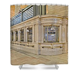 Grand Central Terminal Shower Curtain by Susan Candelario