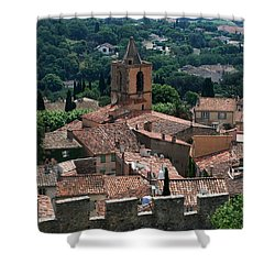 Grimaud Shower Curtain by Dany Lison
