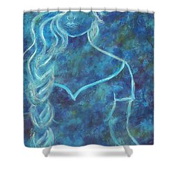 Guinevere Shower Curtain by The Art With A Heart By Charlotte Phillips