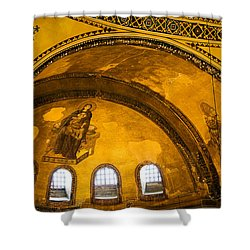 Hagia Sophia Architectural Details Shower Curtain by Artur Bogacki