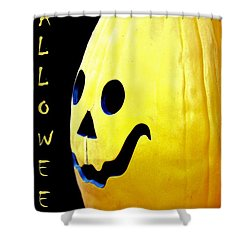 Halloween 1 Shower Curtain by Maria Urso