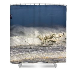 Hanging In There Shower Curtain by Avalon Fine Art Photography