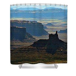 Haze Shower Curtain by Skip Hunt