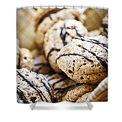 Hazelnut Cookies Shower Curtain by Elena Elisseeva