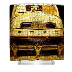 Henrys Ford Truck Shower Curtain by David Lee Thompson