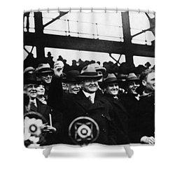 Herbert Hoover (1874-1964) Shower Curtain by Granger