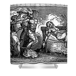 Heresy: Torture, C1550 Shower Curtain by Granger