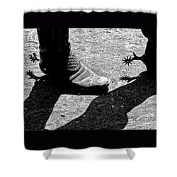 High Two Thirty Seven Shower Curtain by Joe Jake Pratt