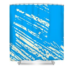 Him  Shower Curtain by Pixel Chimp