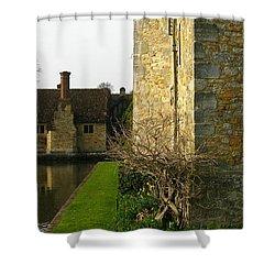 History Shower Curtain by Maria Joy