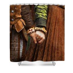 Holding Hands Shower Curtain by Jill Battaglia