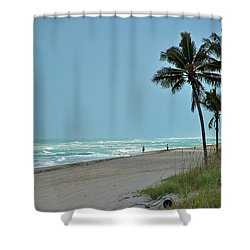 Hollywood Shower Curtain by Joseph Yarbrough