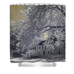 Homestead Shower Curtain by Joann Vitali