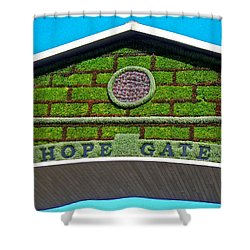 Hope Gate - Quebec City Shower Curtain by Juergen Weiss