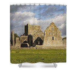 Hore Abbey, Cashel, County Tipperary Shower Curtain by Richard Cummins