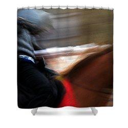 Horserider Shower Curtain by Colette V Hera  Guggenheim
