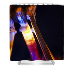 Hot Shower Curtain by Charles Stuart