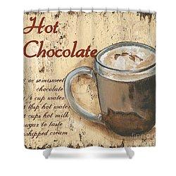 Hot Chocolate Shower Curtain by Debbie DeWitt