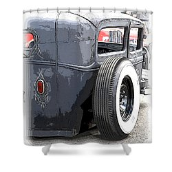 Hot Rods Forever Shower Curtain by Steve McKinzie