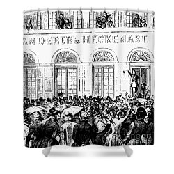 Hungarian Home Rule, 1848 Shower Curtain by Granger