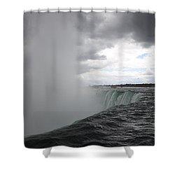 Hydro Shower Curtain by Amanda Barcon