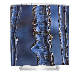 Icicles Shower Curtain by Heiko Koehrer-Wagner