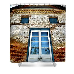 If Bricks Could Talk Shower Curtain by Cheryl Young