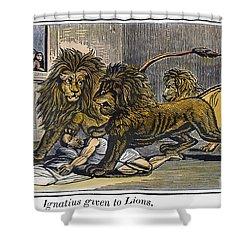 Ignatius Of Antioch (c35-110) Shower Curtain by Granger