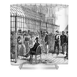 Illegal Voters, 1876 Shower Curtain by Granger
