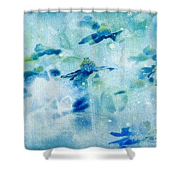 Imagine - M11v09 Shower Curtain by Variance Collections