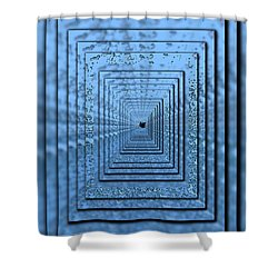 In The Eye Of The Storm 5 Shower Curtain by Tim Allen