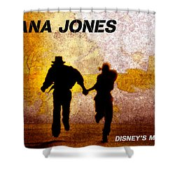 Indy And Marions Escape Shower Curtain by David Lee Thompson