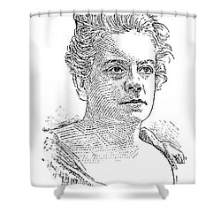 Isabel Florence Hapgood Shower Curtain by Granger