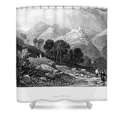 Italy: Licenza, 1833 Shower Curtain by Granger