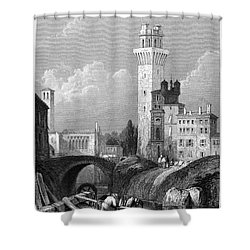 Italy: Padua, 1833 Shower Curtain by Granger