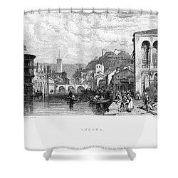 Italy: Verona, 1833 Shower Curtain by Granger