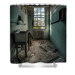 Janitors Closet Shower Curtain by Gary Heller