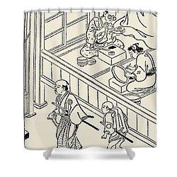 Japan: Samurai, 1700 Shower Curtain by Granger