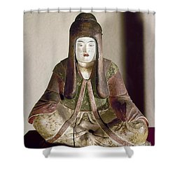 Japan: Statue, 9th Century Shower Curtain by Granger