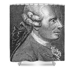Jean Le Rond Dalembert, French Polymath Shower Curtain by Science Source