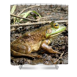 Jeremiah Shower Curtain by Meandering Photography