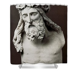 Jesus: Crucifixion Shower Curtain by Granger