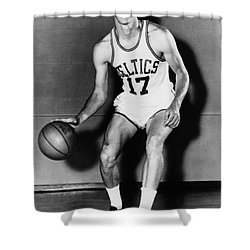 John Havlicek (1940- ) Shower Curtain by Granger