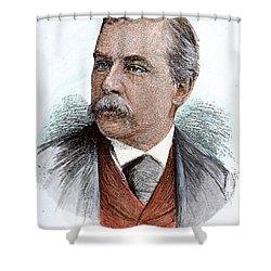 John Pierpont Morgan (1837-1913) Shower Curtain by Granger