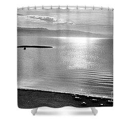Jordan: Dead Sea, 1961 Shower Curtain by Granger