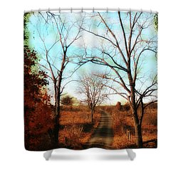 Journey To The Past Shower Curtain by Bill Cannon